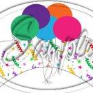 Happy Birthday Cupcake Wrappers  ~ Set of 1 Dozen