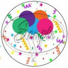 Happy Birthday Cup Cupcake Toppers ~ Set of 1 Dozen