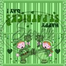Irish Jig  ~ St. Patrick's Day ~ Treat Bag Topper