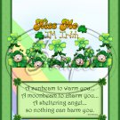 Kiss Me I'm Irish ~ St. Patrick's Day~ Standard 1.55 oz Candy Bar Wrapper  SOE
