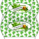 Happy St. Patrick's Day Banner #3  ~ Set of 12 Pillow Treat Gift Box