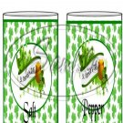 Happy St. Patrick's Day Banner ~ Salt & Pepper Shaker Covers Wrappers