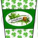 Happy St. Patrick's Day Banner #2 ~ Gift Card Holder Latte` Cup