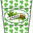 Happy St. Patrick's Day Banner #3 ~ Gift Card Holder Latte` Cup