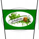 Happy St. Patrick's Day White Banner #3 ~ Gift Card Holder Latte` Cup