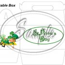 Lazy Happy Leprechaun #2 ~ St. Patrick's Day ~ Gable Gift or Snack Box