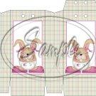 Baby Girl Easter Bunny  ~ Pinch Box
