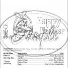 Color Me Easter #1 Nutritional Facts ~ Standard 1.55 oz Candy Bar Wrapper  SOE 1 Dozen