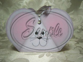 Gray Grey Mouse ~ 3 Dimensional 3D Goodie Animal Box