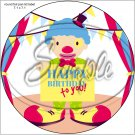 "Happy Birthday #11 ~ 7"" Round Foil Pan Lid Cover"