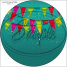 "Happy Birthday #26 ~ 7"" Round Foil Pan Lid Cover"
