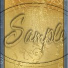 "Gold Embossed ~ Vertical ~ 6"" X 8"" Foil Pan Lid Cover"