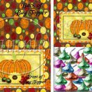 Bountiful Harvest  ~  Treat Bag Topper ~ 1 Dozen