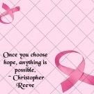 Choose Hope Breast Cancer ~  Treat Bag Topper 1 Dozen