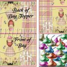Happy Day   ~ Bag Topper 1 Dozen