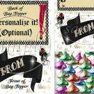 Prom ~ School Days Educational Treat Bag Toppers 1 Dozen