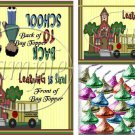 Learning Is Fun (AA Black)  ~ School Days Educational Treat Bag Toppers 1 Dozen