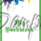 Colorful Lilies ~ Green ~ Bookmark 1 Dozen