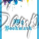Colorful Lilies ~ Turquoise ~ Bookmark 1 Dozen