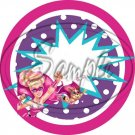 Barbie Power ~ Cupcake Toppers ~ Set of 1 Dozen