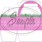 Pink Easter Basket ~ MINI Gable Gift or Snack Box