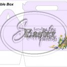 Lavender Easter Blessings ~ Gable Gift or Snack Box