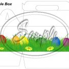 Easter Eggs in the Grass ~ MINI Gable Gift or Snack Box