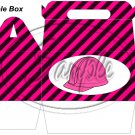 Construction Pink Hard Hat ~ Gable Gift or Snack Box