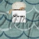 Gone Fishing Fish Waves Can of Worms ~ MINI Candy Bar Wrappers 1  EACH