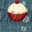 Gone Fishing Fish Bubbles Bobber  ~ MINI Candy Bar Wrappers 1 DOZEN