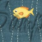 Gone Fishing Fish Bubbles Yellow Perch  ~ MINI Candy Bar Wrappers 1 DOZEN
