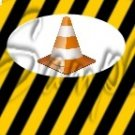 Construction Yellow Traffic Cone ~ MINI Candy Bar Wrappers