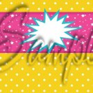 Barbie Power Yellow ~ MINI Candy Bar Wrappers