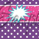 Barbie Power Purple ~ MINI Candy Bar Wrappers 1 DOZEN