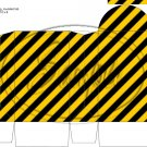 Construction Yellow Blank ~ Round Top Pinch Treat or Gift Box ~ 1 DOZEN