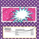 Barbie Power Blank ~ Standard 1.55 oz Candy Bar Wrapper  SOE
