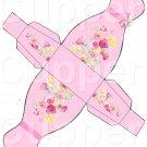 Pink Dress ~ Party Favor Totes, Bags & Boxes DOZEN