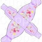 Lavender Dress ~ Party Favor Totes, Bags & Boxes DOZEN