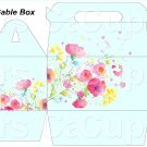 Variety of Colors Wild Flowers   ~ MINI Gable Gift or Snack Box DOZEN