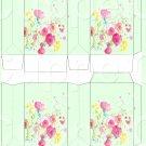 Green Wild Flowers ~ MINI Pinch Treat Gift Box ~ DOZEN