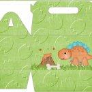 Dinosaur Green #7 ~ Gable Gift or Snack Box DOZEN
