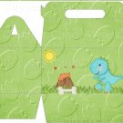 Dinosaur Green #10 ~ Gable Gift or Snack Box DOZEN