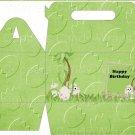 Dinosaur Green #11 ~ Gable Gift or Snack Box DOZEN