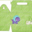 Dinosaur Green #13 ~ Gable Gift or Snack Box EACH