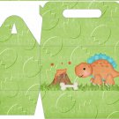 Dinosuar Green #7 ~ MINI Gable Gift or Snack Box DOZEN