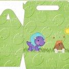 Dinosuar Green #8 ~ MINI Gable Gift or Snack Box DOZEN