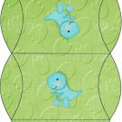 Dinosaur Green #2 ~ Pillow Treat Gift Box Each