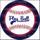 Play Ball ~ Cupcake Toppers ~ Set of 1 Dozen