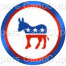 Democrat Donkey #2 ~ Cupcake Toppers ~ Set of 1 Dozen