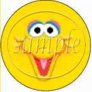 Big Bird Sesame Street Inspired ~ Cupcake Toppers ~ Set of 1 Dozen